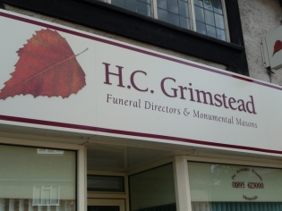 Grimstead, undertakers