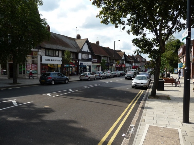 A view of Ruislip