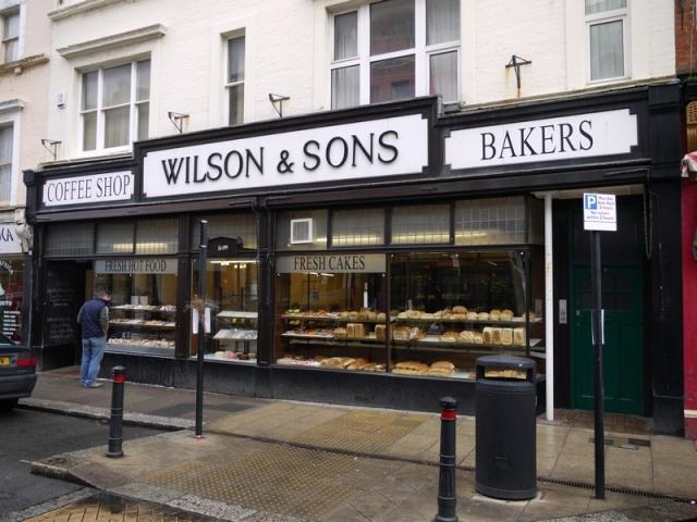 Wilson's Bakery, St Leonards