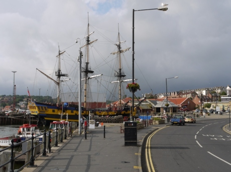 Clouds gathering over Whitby