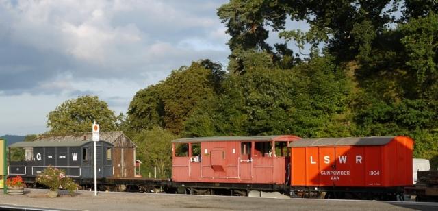 Railway waggons, Yeovil