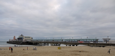 Reaching Bournemouth Pier