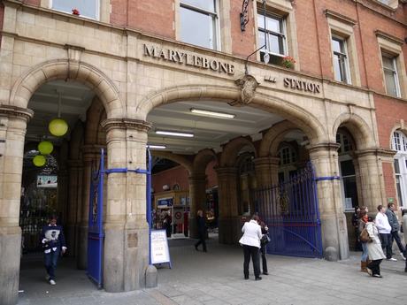Marylebone, one of our smaller and prettier stations