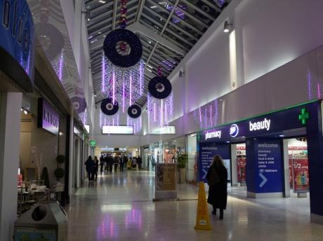 A modern market hall