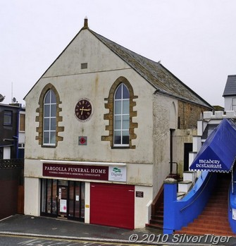 This curious little building was perhaps once a chapel or a parish hall