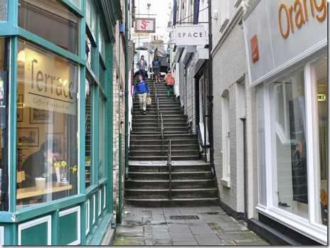 Stepped street, Penzance