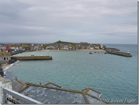 St Ives Harbour from the bus terminal