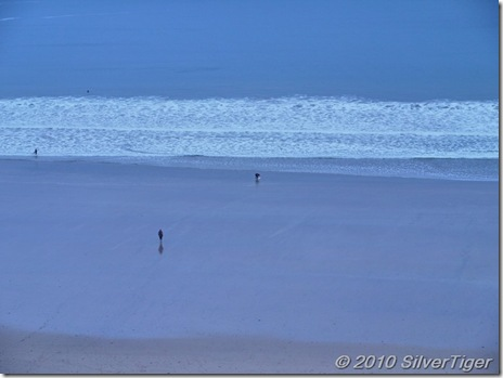A rhapsody in blue: Watergate Bay