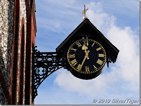 St Michael's church clock