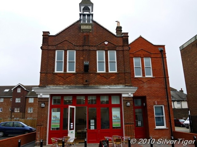 Katie's Cafe in the old firestation
