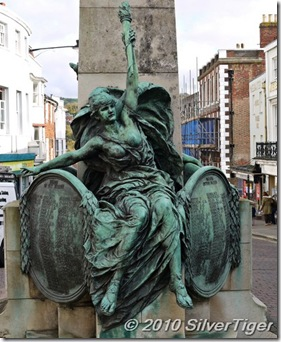 The Angel of Peace, Lewes War Memorial