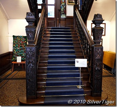 Jacobean staircase, Town Hall