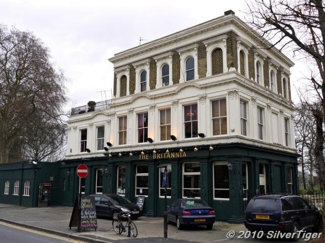 The Britannia pub theatre