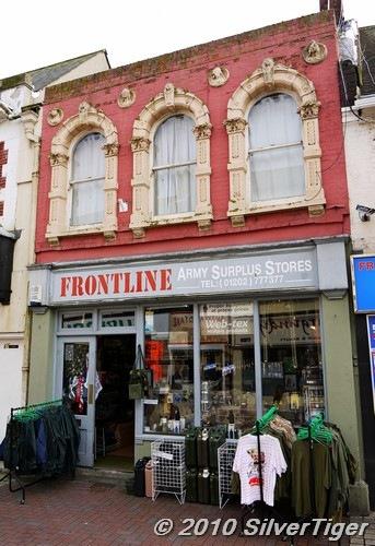 Frontline Army Surplus store
