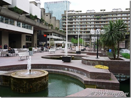 The Barbican terrace