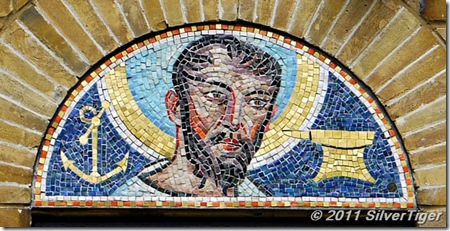 Mosaic of St Clement
