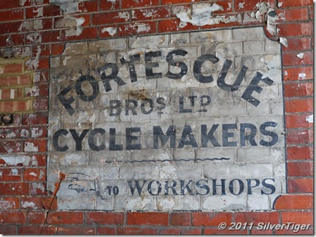 Ghost sign: Fortescue Bros Ltd