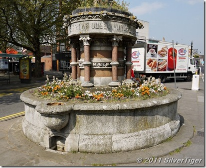 Drinking fountain in honour of the Golden Jubilee of Queen Victoria