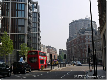 Knightsbridge - another hazy day