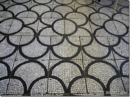 Mosaic tile floor, Museum of Childhood