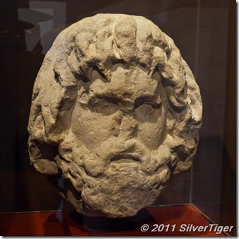 Head of the Egyptian god Serapis