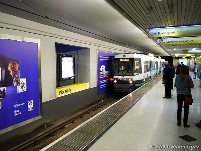 Piccadilly tram stop