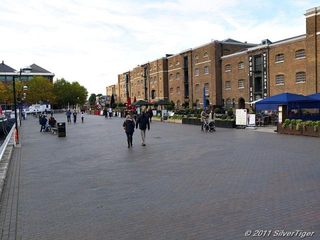 A broad esplanade
