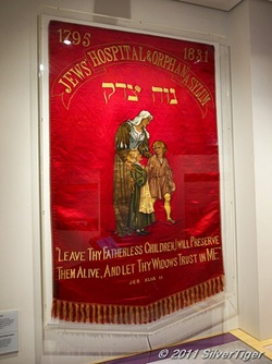 Banner of the Jews' Hospital and Orphan Asylum