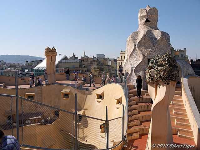 Roof of Casa Milà
