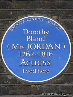Plaque to Bland